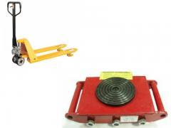 Тележки грузовые такелажные (передвижные платформы)